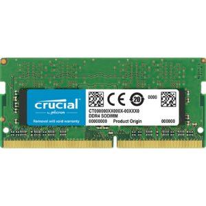 Memoria Ddr4 4Gb Crucial Sodimm 2400Mhz CT4G4SFS824A