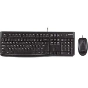 Teclado + Mouse Logitech Mk120 Usb 920-002539