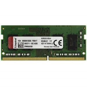 Memoria Ddr4 4Gb Kingston 2666 Mhz KVR26S19S6/4