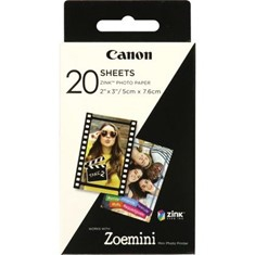 Papel Fotografico Canon Zp - 2030 20 Hojas 3214C002