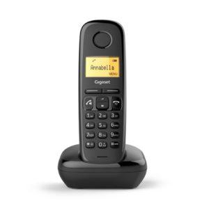 Telefono Fijo Inalambrico Gigaset A270 Negro GIGASET-A270BK