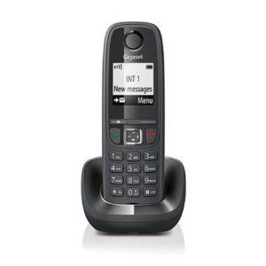 Telefono Fijo Inalambrico Gigaset As405 Negro GIGASET-AS405BK