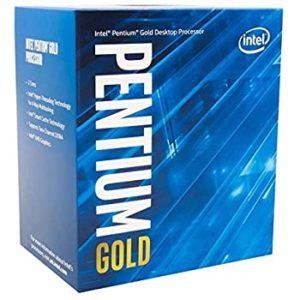 Micro. Intel Pentium Gold Dual Core BX80701G6400