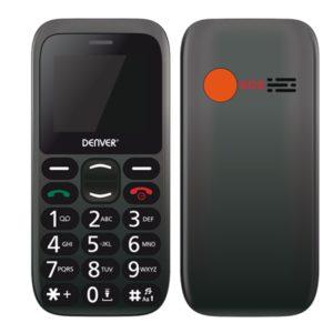 Telefono Movil Denver 1.77Pulgadas Sms Dual BAS-18300M