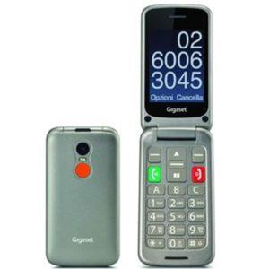 Telefono Movil Gigaset Gl590 Gris Mayores GL590