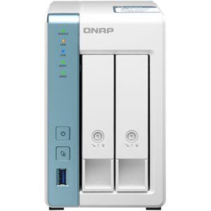 Servidor Nas Qnap Ts - 231P3 - 4G 4Gb Ethernet MGS0000002594