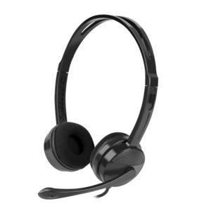 Auriculares Natec Canary Con Microfono Negros DSP0000002226