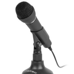 Microfono Natec Adder Negro DSP0000002239